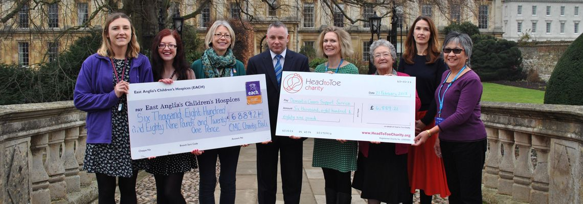 University of Cambridge Catering Managers' Committee Raises £13,778.43 For Charity