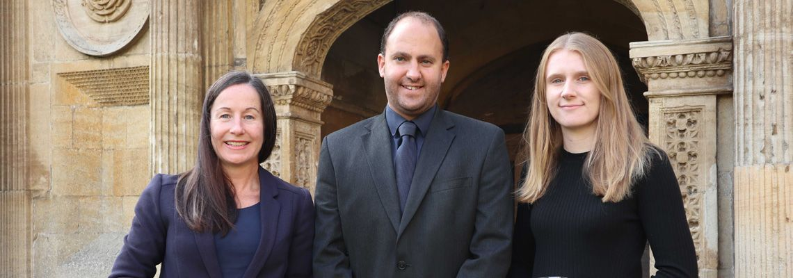 Cambridge BID awards for Caius Conference Team